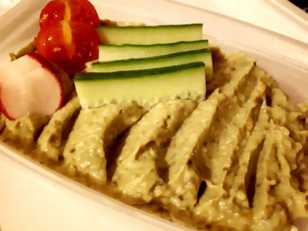 Salata de vinete cu maioneza de avocado